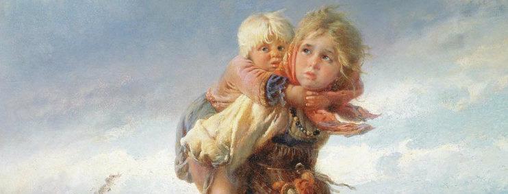 Что умела 10-летняя девочка 100 лет назад на Руси?