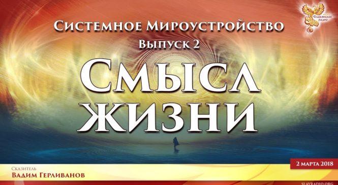 Смысл жизни. Системное Мироустройство. Вадим Герливанов. Выпуск 2